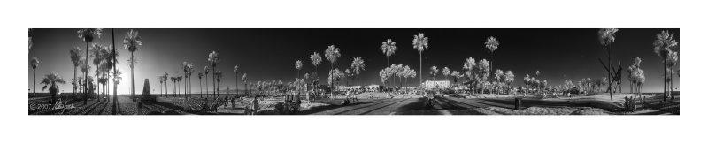 Venice Beach 360° Infrared Panorama
