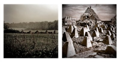 Father and Son Collaboration: Near Roetgen, Germany 2007 and 1944