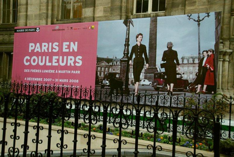 Paris en couleurs.