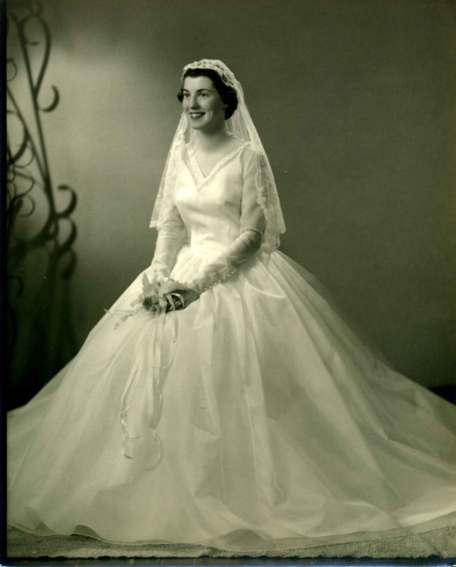 Ann Elizabeth Peterschmidt Brooks, Aug. 1957