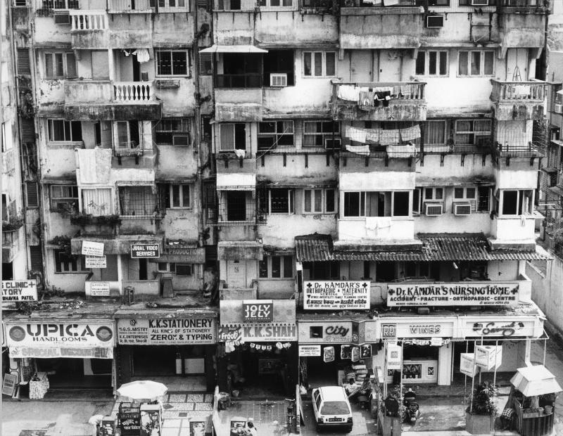 Apartment complex,  Santa Cruz, Bombay, INDIA