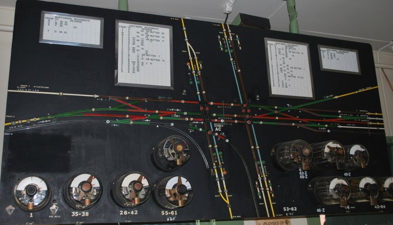 The model board in Marion Tower.