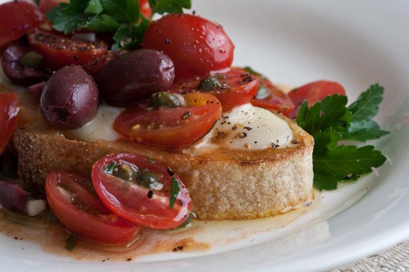 Sweet Tomato Toast