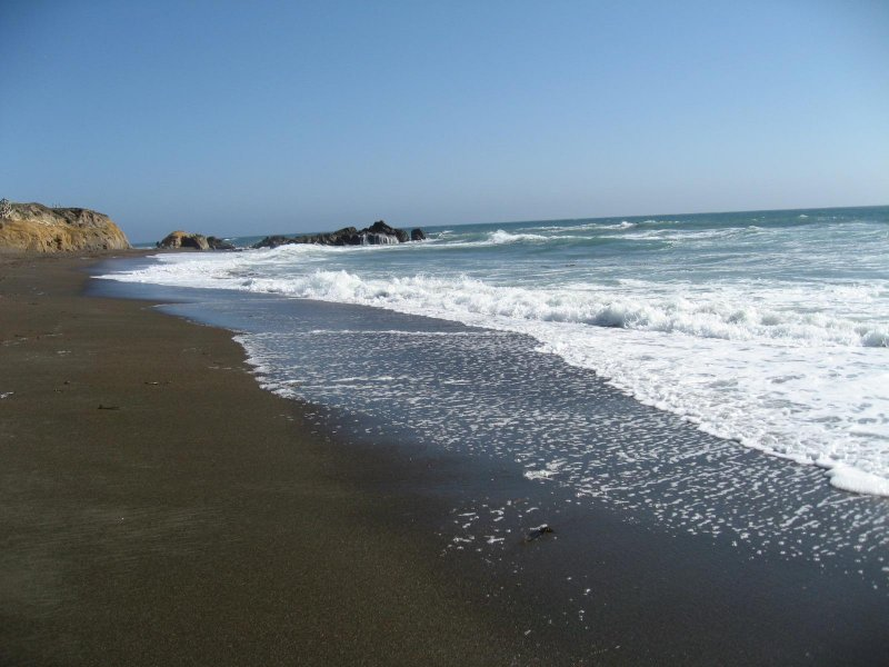 Cambria California on Hwy 1- Moonstone Beach