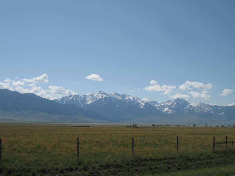 Entering Yellowstone Park from the west