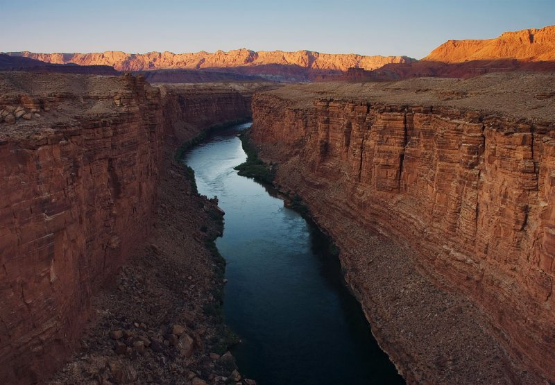 View From Navajo Bridge - Late Afternoon
