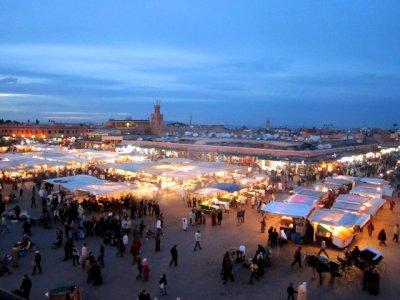 Marrakesh square