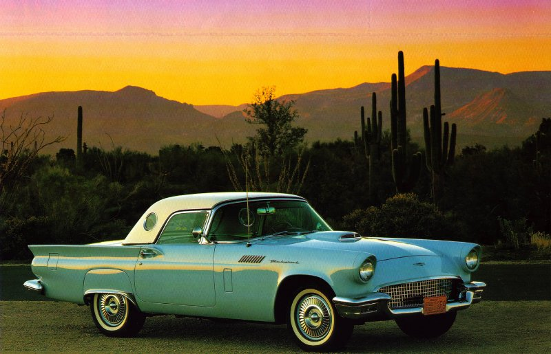 Barb & Johns 1957 Thunderbird