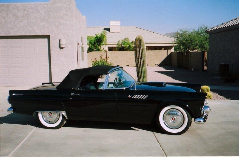 Jerry & Rochelles 1955 Thunderbird