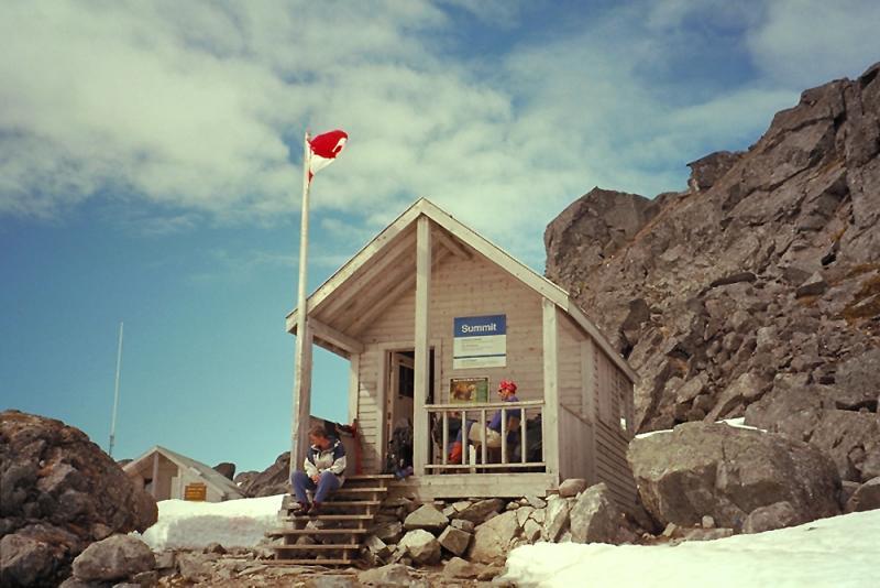 Chilkoot summit