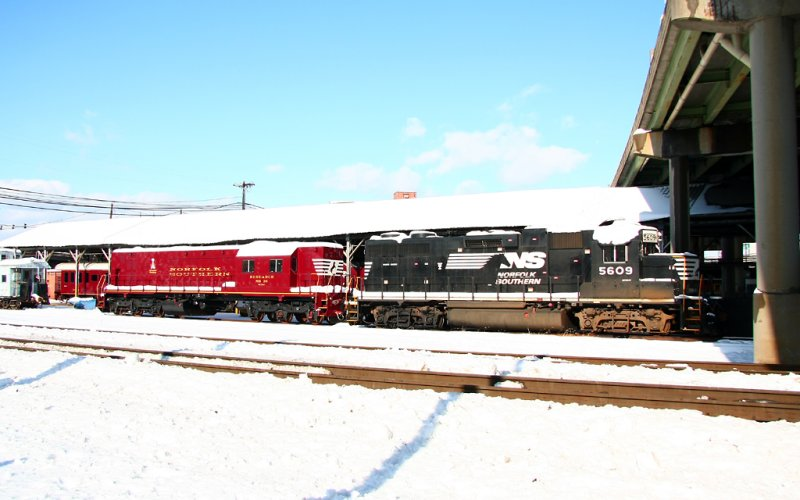 Snow at the Sheds