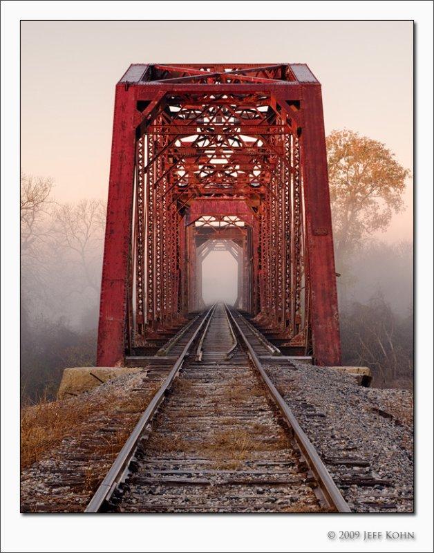 Railroad Bridge #2, Brazos River, Waller County