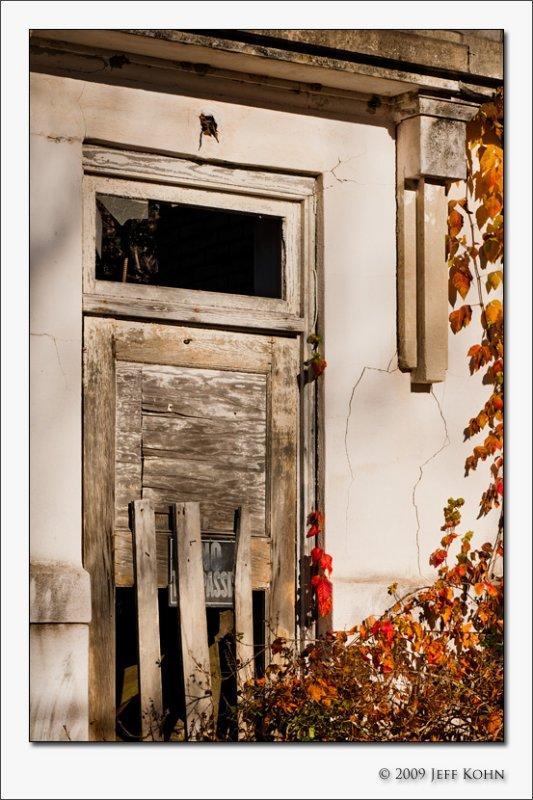 Boarded Door, Abonded Building, Eagle Lake.jpg