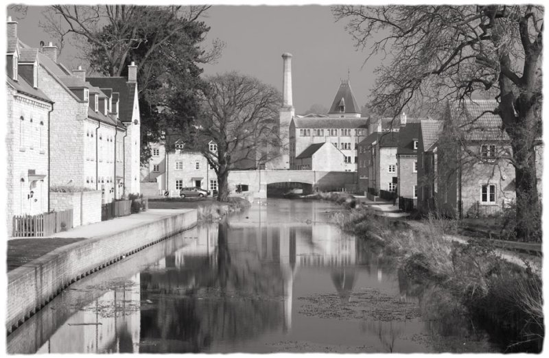 Ebley Mill and Stroudwater Canal