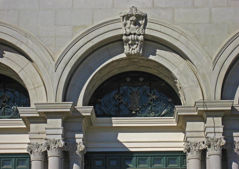 Detail of the West Wing of Memorial Hall, Fairmount Park, Philadelphia