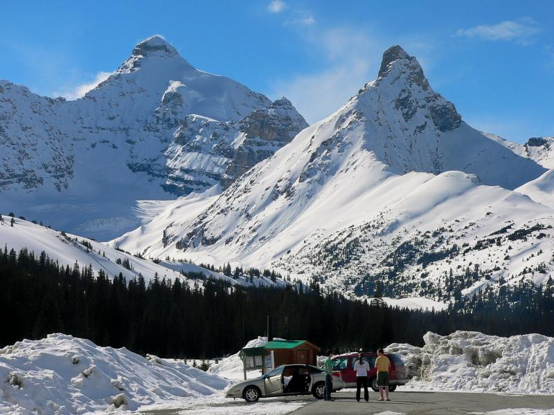 Mount Athabasca, Mt. Andromeda, Columbia Icefields