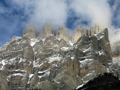 Mt. Wilson crags