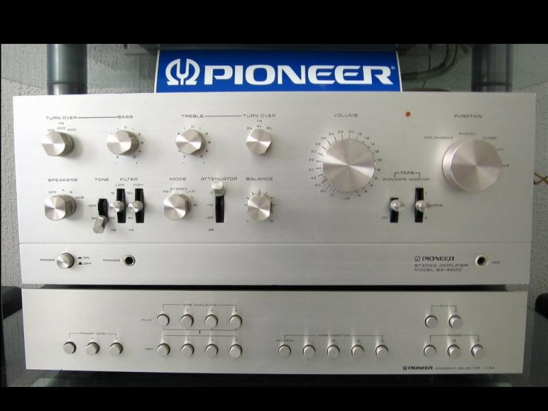 Pioneer SA-9500           Pioneer U-24 Program Selector