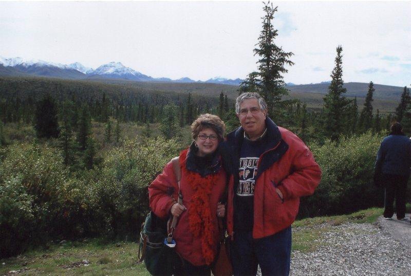 Leonard and Ida in Danali Alaska