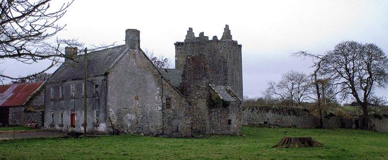 Lackeen Castle Bawn Wall