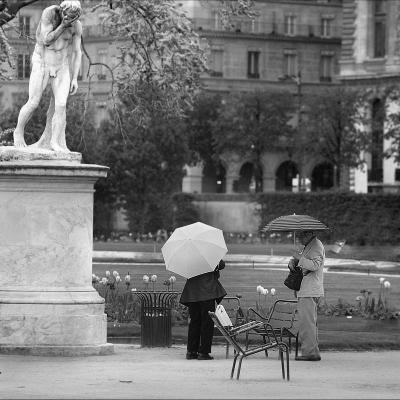 More rain in Paris