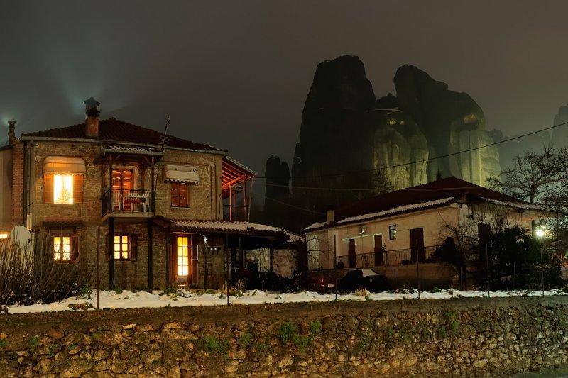 Kastraki village