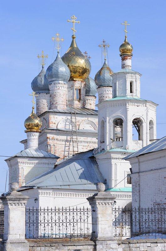 Architectural complex of Kazanskaya church in Kiyasovo village (1701)