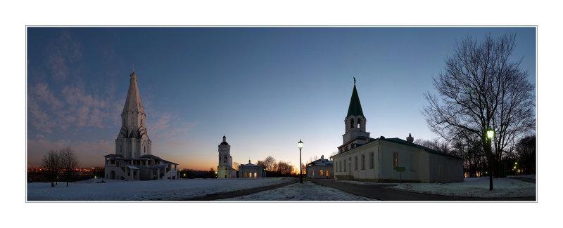 Moscow, Kolomenskoye museum-reserve
