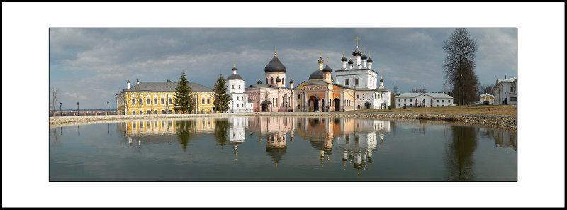 Moscow region, Novy Byt village, Davidova Pustyn (hermitage) monastery, 1515