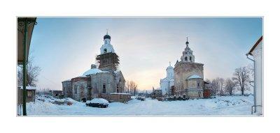 02.12.2007 Vladimir region, town of Kirzhach, Saviour, Annunciation Monastery