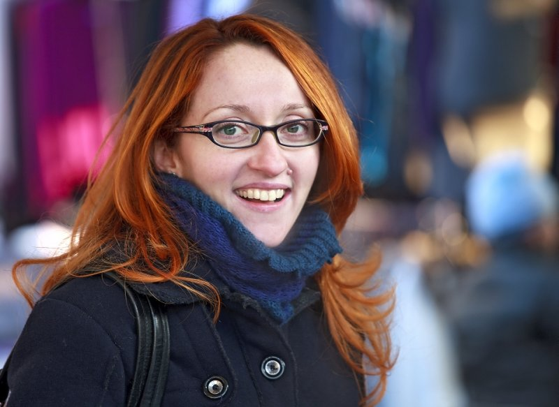 Red Hair Girl from Russia