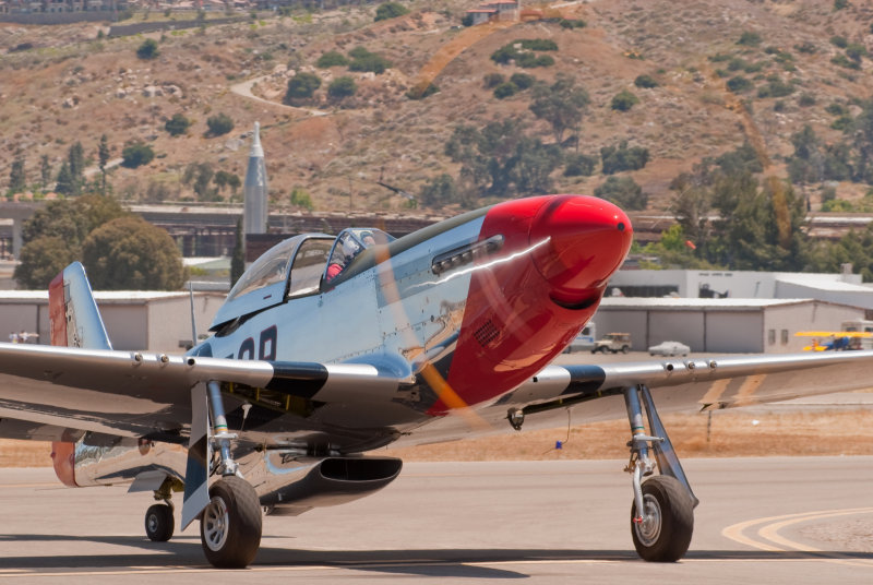 P-51D Mustang Red Dog
