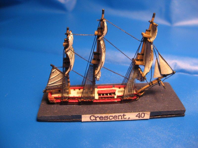 5th Rate Frigate Crescent, 40