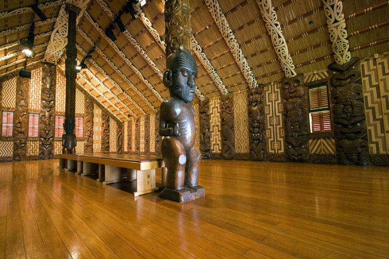 Te Whare Runanga, Maori Meeting House