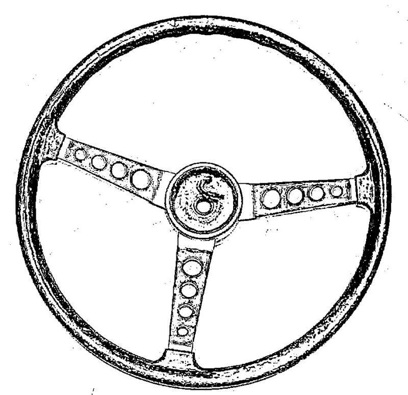 Coming soon - Replica of Italian made steering wheel suitable for Mustang