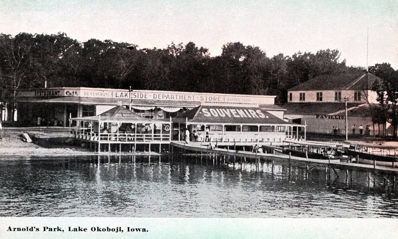 Arnolds Park Lakeside Store