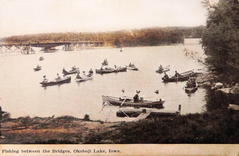 Fishing between the Bridges 1908