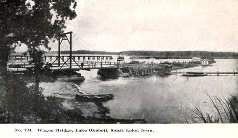 Wagon Bridge Lake Okoboji