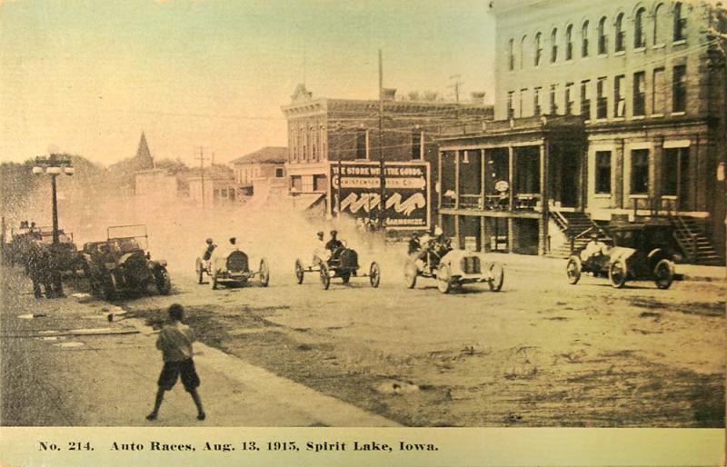 Spirit Lake Race 1915