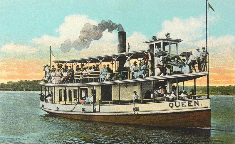 Steamer Queen 1920s