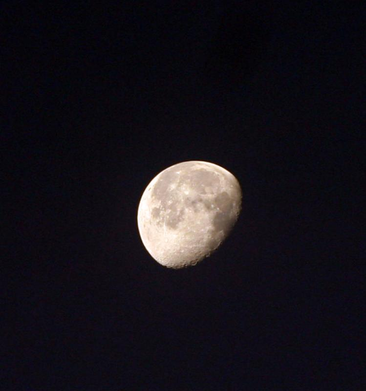 The Moon above St Marthas
