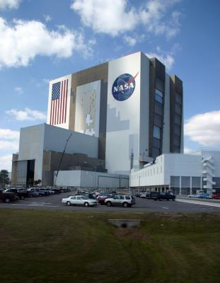 Where the Shuttle is built - upright!