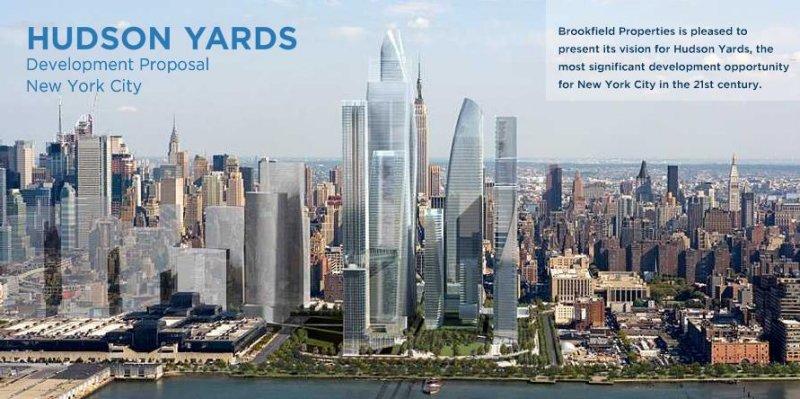 New York 30 Hudson Yards Manhattan Tower 387m
