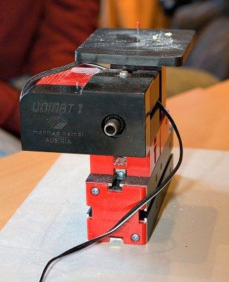 Deler fra basissettet konfigurert som vibratorsag