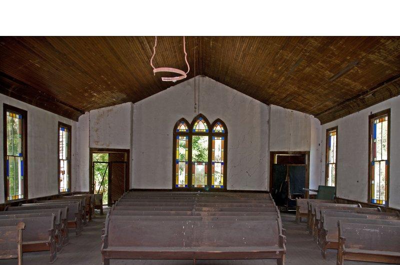 Trinity ME Church - Interior