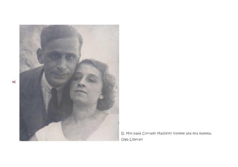 Corrado Mazzetti e Olga Liberati