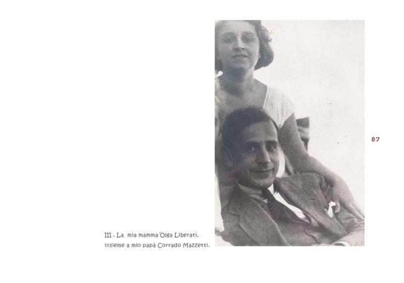 Olga Liberati e Corrado Mazzetti