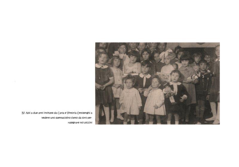 Lorenza e Paola Mazzetti, a due anni, a casa Ottolenghi