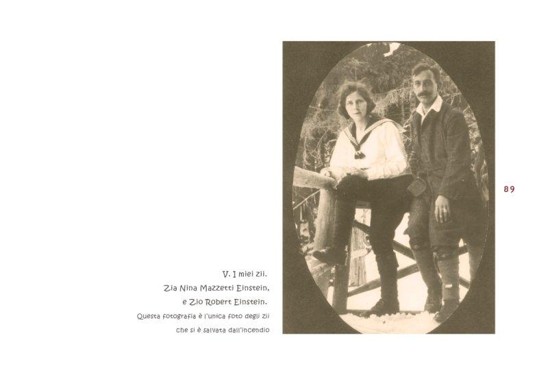 Nina Mazzetti Einstein e Robert Einstein