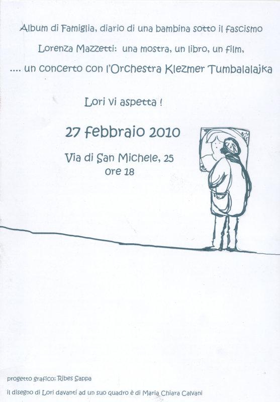 locandina  invito Concerto Orchestra Tumbalalajka